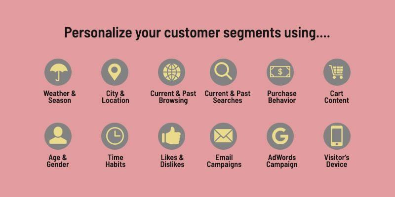 personalize your customer segments