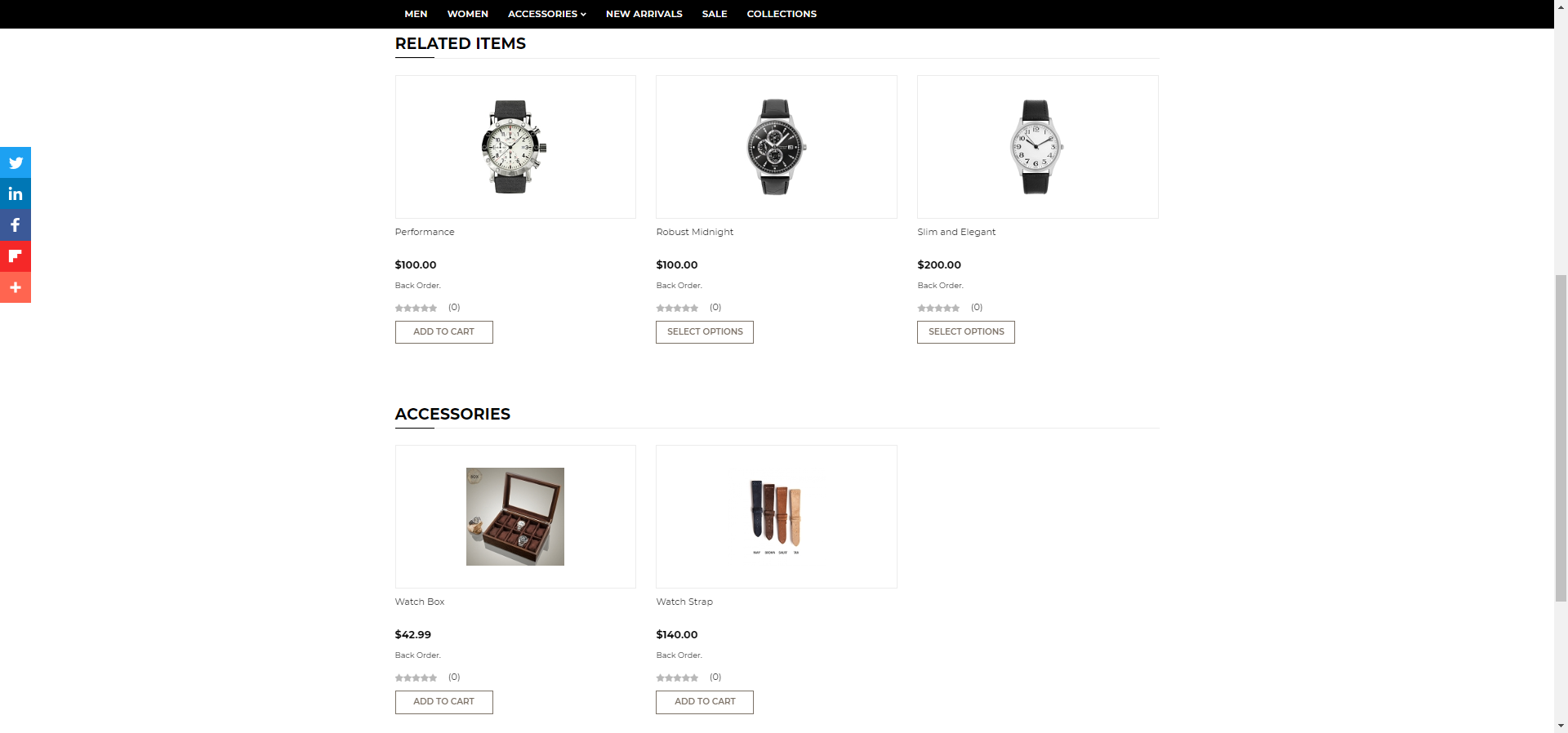 Ecommerce startup upsell feature