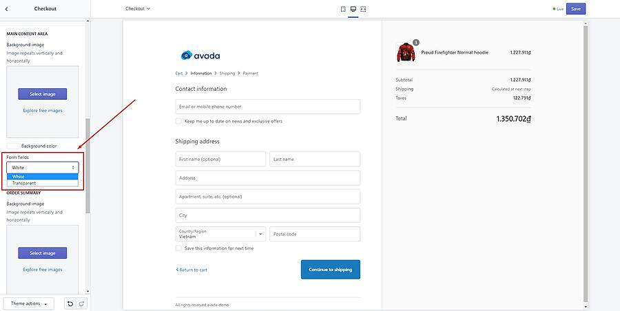 shopify custom fields