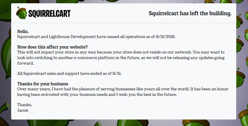 squirrelcart-shuts_down