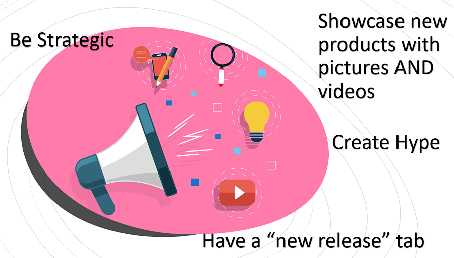 tips for promoting new product releases