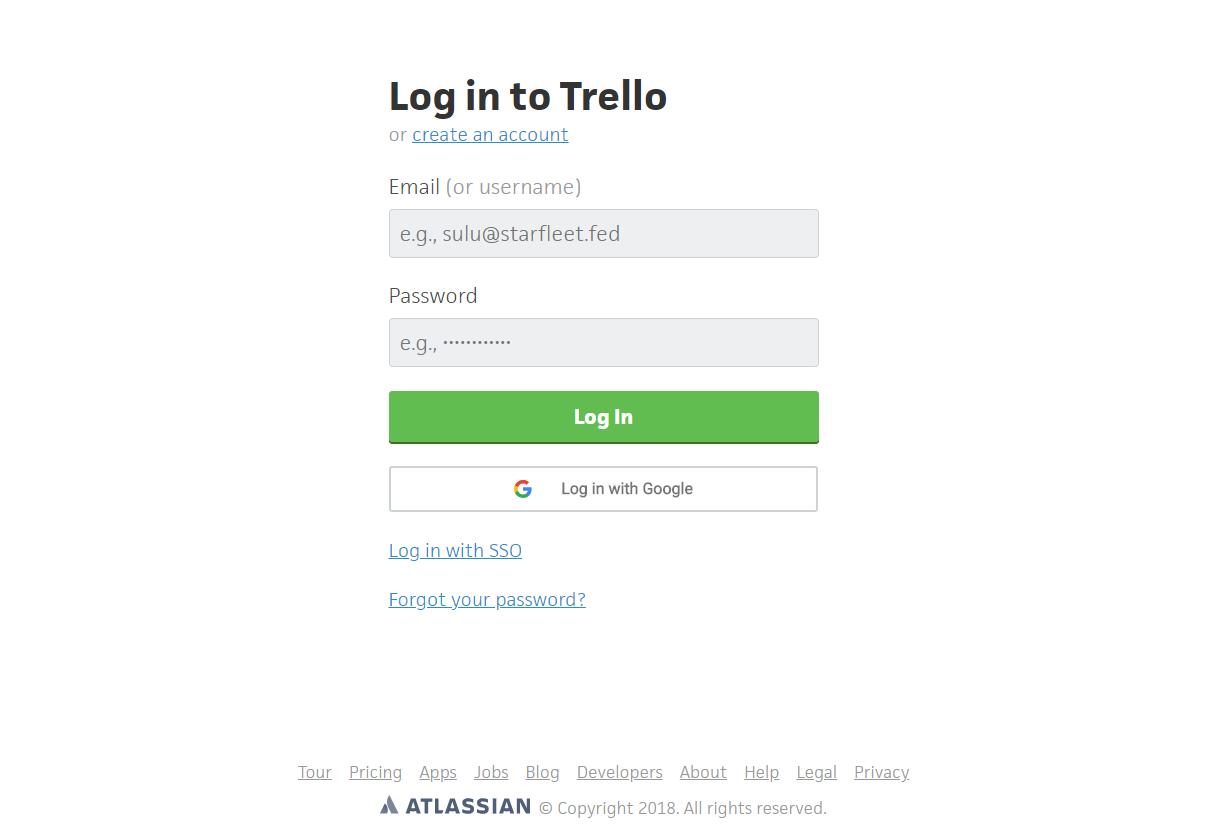 trello-login-page