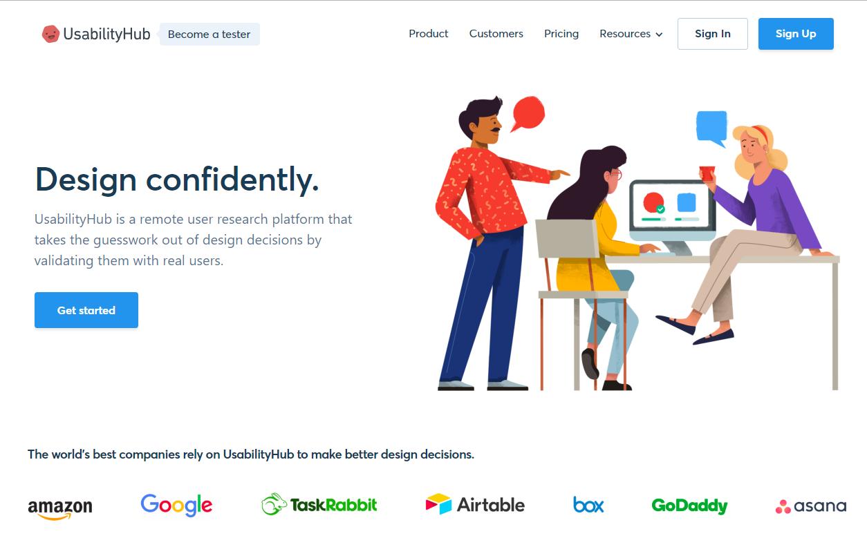 usabilityhub-website-testing
