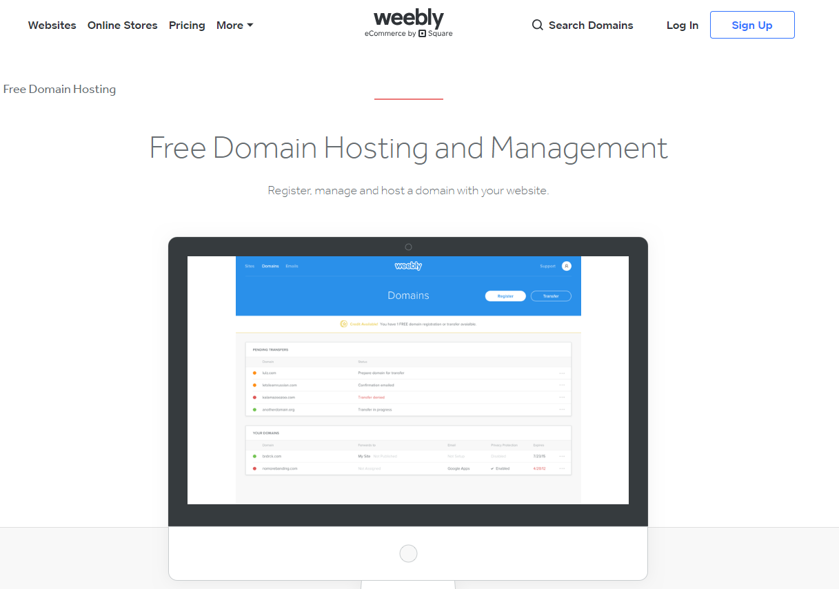 weebly-free-domain