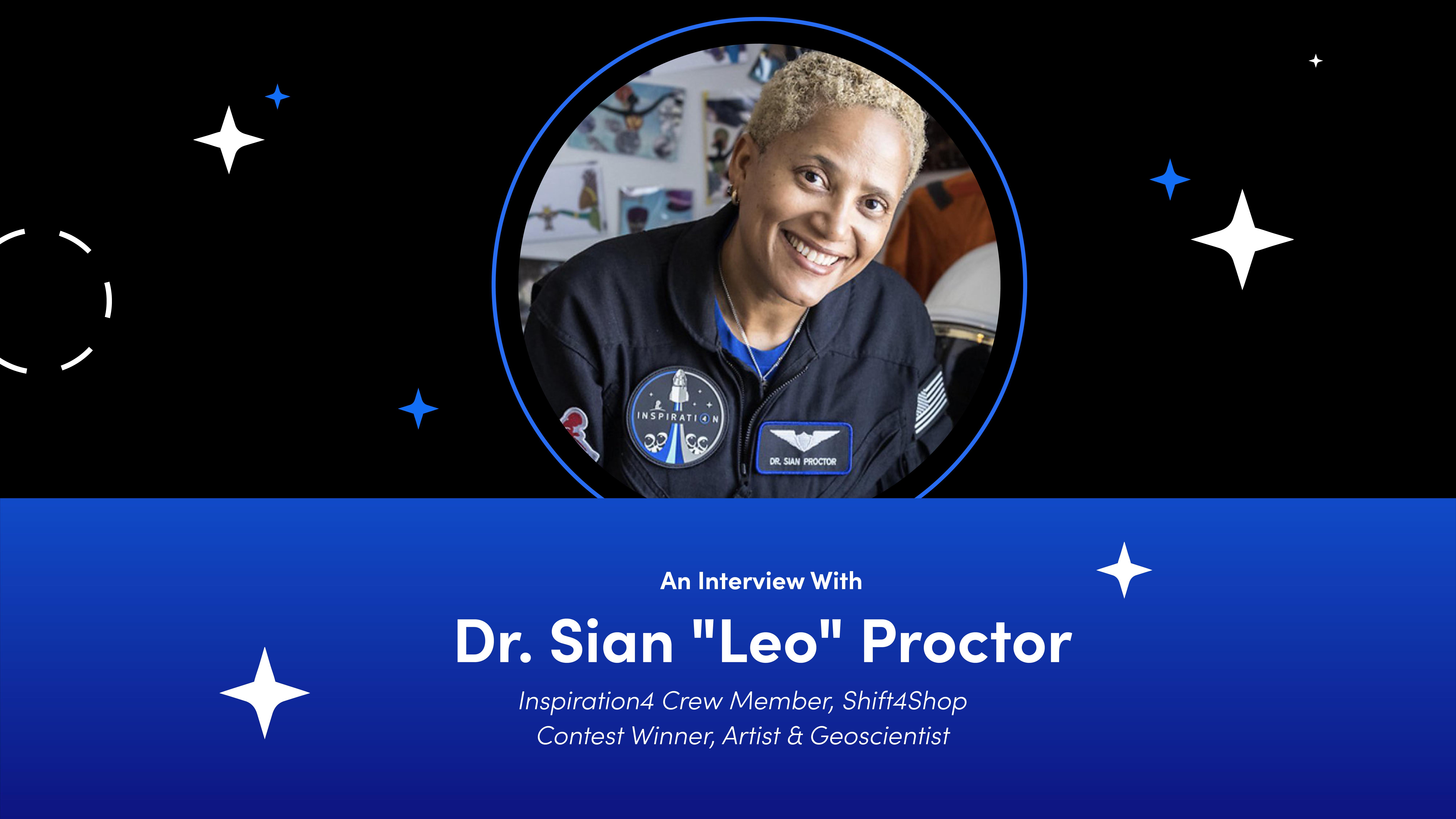 """Meet Dr. Sian """"Leo"""" Proctor"""