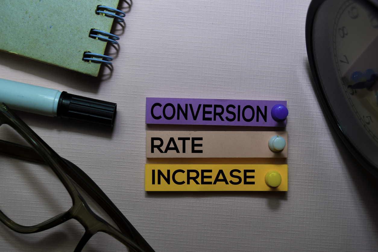 Conversion rate increse